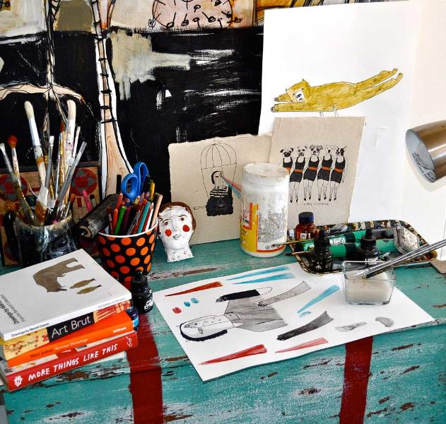 Kelly Puissegur's Studio