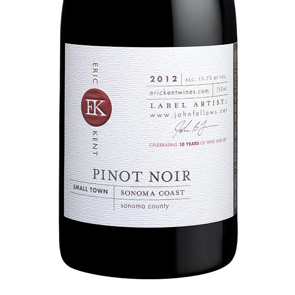 2012 Small Town Pinot Noir - LIBRARY RELEASE