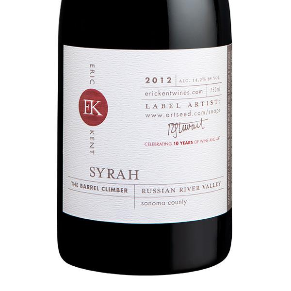 2012 The Barrel Climber Syrah - LIBRARY RELEASE