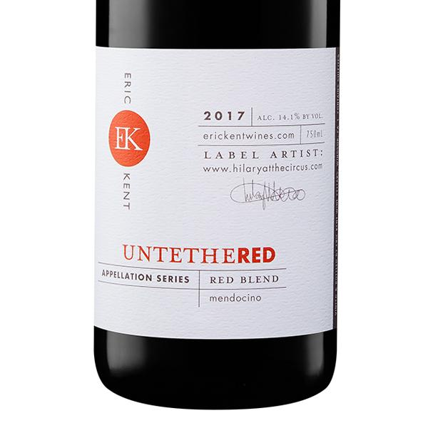 2017 Appellation Series Untethered Red Blend - SOLD OUT